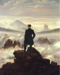 """The Wanderer"" image courtesy of google images"